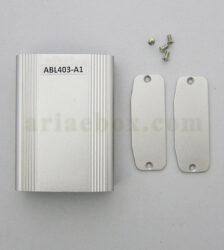 نمای داخلی جعبه آلومینیومی تجهیزات کنترل صنعتی ABL403-A1