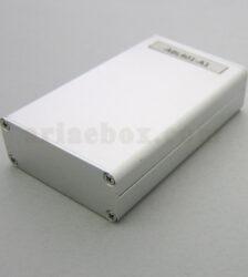 نمای سه بعدی جعبه پروفیل آلومینیومی تجهیزات الکترونیکی ABL401-A1