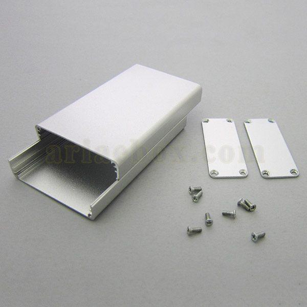 شیارهای داخلی جعبه پروفیل آلومینیومی تجهیزات الکترونیکی ABL401-A1