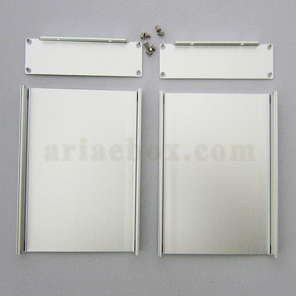نمای باز جعبه دیواری آلومینیومی مخابراتی-الکترونیکی ABL424-A1M