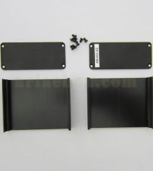نمای باز جعبه آلومینیومی برد الکترونیکی ABL411-A2