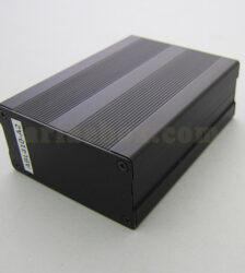 نمای سه بعدی جعبه آلومینیومی تقویت کننده الکترونیکی ABL410-A2