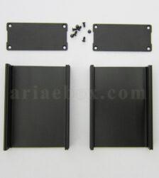 نمای باز جعبه آلومینیومی تقویت کننده الکترونیکی ABL410-A2