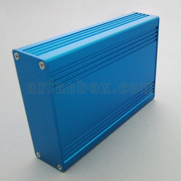 نمای جانبی جعبه آلومینیومی محافظ تجهیزات الکترونیکی ABL409-B
