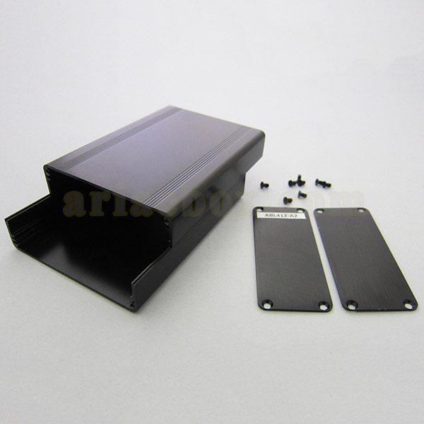 نمای باز جعبه رومیزی آلومینیومی برد الکترونیکی ABL412-A2