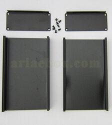 نمای باز جعبه دیواری آلومینیومی شاسی الکترونیکی ABL417-A2M