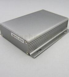 نمای سه بعدی جعبه آلومینیومی قطعات الکترونیکی abl421-a1m