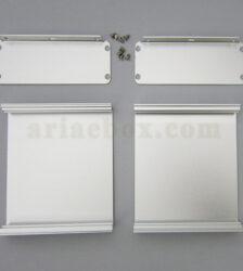 نمای باز جعبه آلومینیومی ابزارآلات الکترونیکی ABL425-A1M