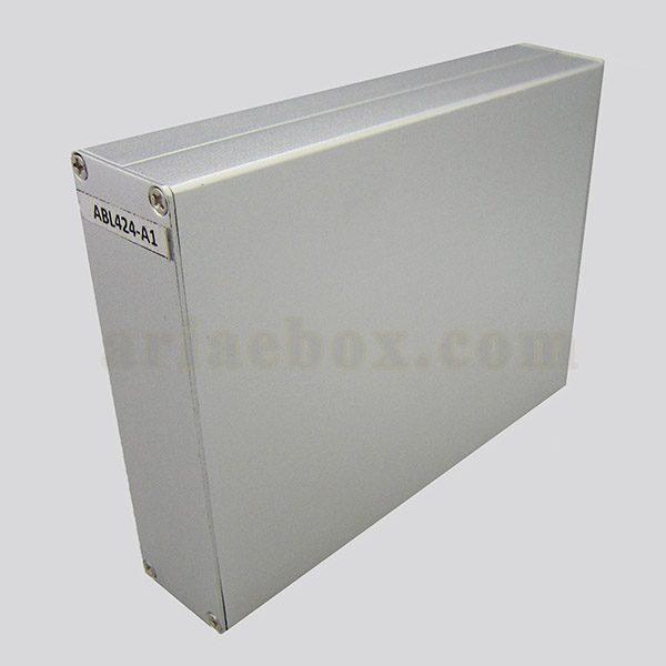 جعبه رومیزی آلومینیومی مخابراتی-الکترونیکی ABL424-A1