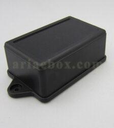 نمای سه بعدی جعبه دیواری تجهیزات الکترونیکی مشکی ABM102-A2