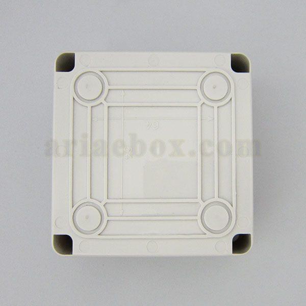 نمای پشت جعبه تقسیم ضدآب تجهیزات الکترونیکی AGT10-10