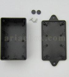 نمای داخلی جعبه دیواری تقویت کننده الکترونیکی abm100-a2