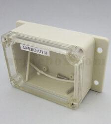نمای سه بعدی باکس گوشواره دار ضدآب شفاف ABW202-A1TM