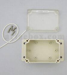 نمای داخلی باکس گوشواره دار ضدآب شفاف ABW202-A1TM