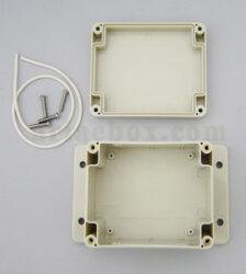نمای داخلی باکس گوشواره دار ضدآب تجهیزات الکترونیکی ABW203-A1M