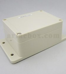 نمای سه بعدی باکس گوشواره دار ضدآب تجهیزات الکترونیکی ABW203-A1M