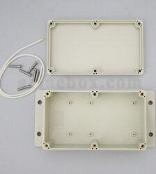 نمای داخلی جعبه ضدآب سوئیچ ترمینال الکترونیکی ABW228-A1M