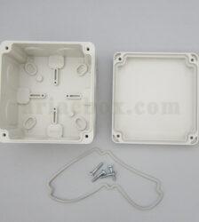 نمای داخلی جعبه تقسیم ضدآب تجهیزات الکترونیکی AGT 11-11