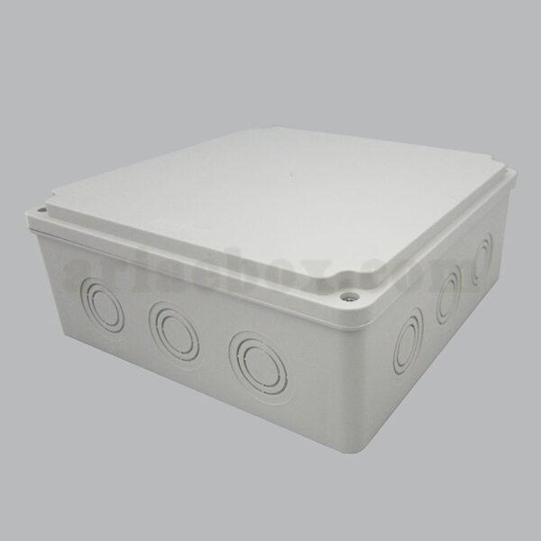 نمای سه بعدی جعبه تقسیم ضدآب 12 سوراخ AGT 20-20