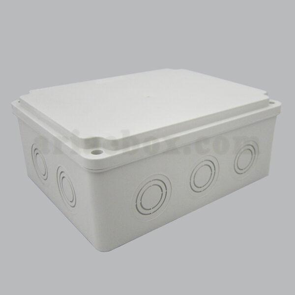 نمای سه بعدی جعبه تقسیم ضد آب 10 سواخ AGT 19-15