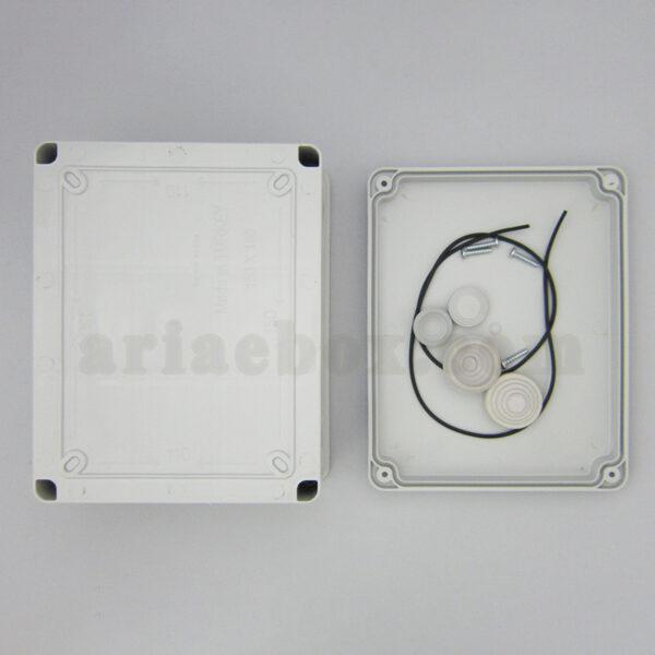 نمای بیرونی جعبه تقسیم ضد آب 10 سواخ AGT 19-15