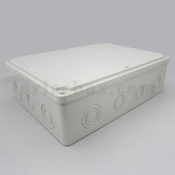 نمای سه بعدی جعبه تقسیم ضدآب الکترونیکی 14 سوراخ AGT 28-21