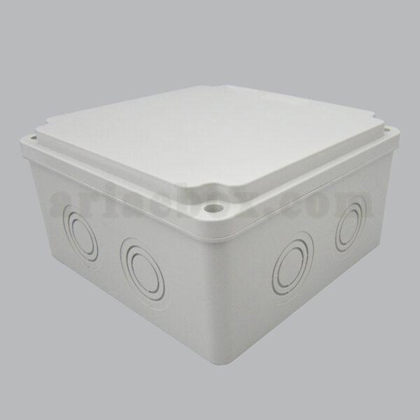 نمای سه بعدی جعبه تقسیم ضدآب الکترونیکی AGT 15-15