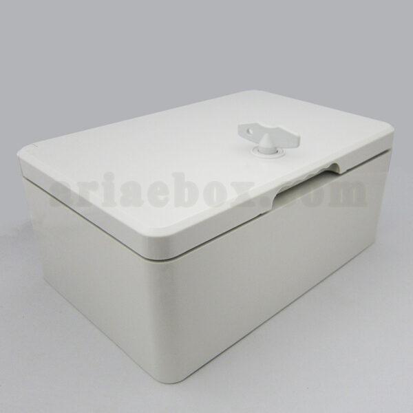 نمای سه بعدی جعبه ضدآب تابلویی الکترونیکی TW701-A1