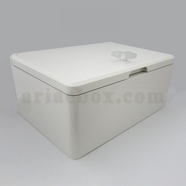 نمای سه بعدی جعبه ضدآب تابلویی قفل دار TW702-A1