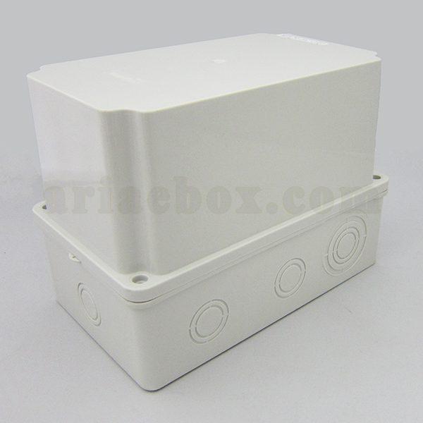 نمای سه بعدی جعبه تقسیم ضدآب گلندخور AGT 21-12/H160