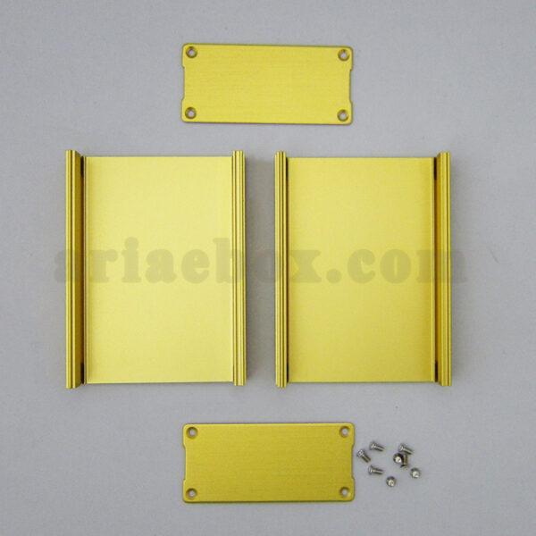 نمای باز جعبه آلومینیومی دیواری تقویت کننده الکترونیکی ABL410-G