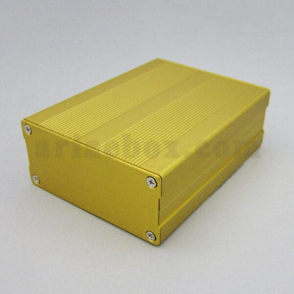 نمای سه بعدی جعبه آلومینیومی دیواری تقویت کننده الکترونیکی ABL410-G
