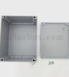 نمای داخلی جعبه اتصالات ضدآب فلزی آلومینیومی AW605-A1