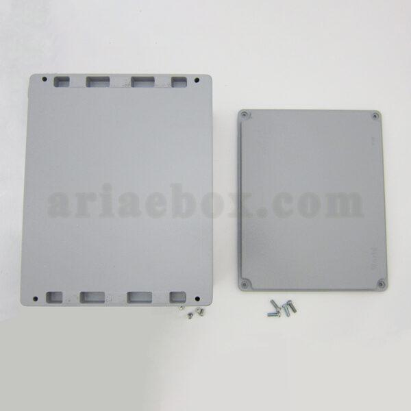 نمای بیرونی جعبه اتصالات ضدآب فلزی آلومینیومی AW605-A1