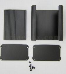 نمای باز جعبه رومیزی آلومینیومی تقویت کننده abl413-a2/l100