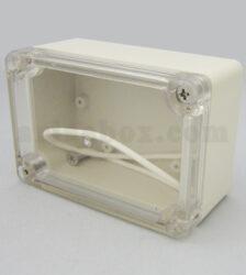 نمای سه بعدی باکس رومیزی ضدآب شفاف ABW202-A1T