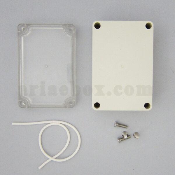 نمای بیرونی باکس شفاف رومیزی ضدآب ABW201-A1T