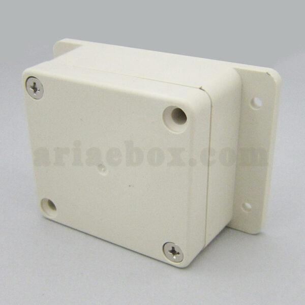 نمای سه بعدی جعبه کوچک دیواری ضدآب تجهیزات الکترونیکی ABW225-A1M