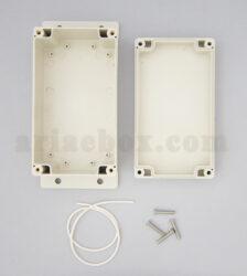 نمای داخلی جعبه ضدآب تغذیه امنیتی کنترل صنعتی ABW205-A1M