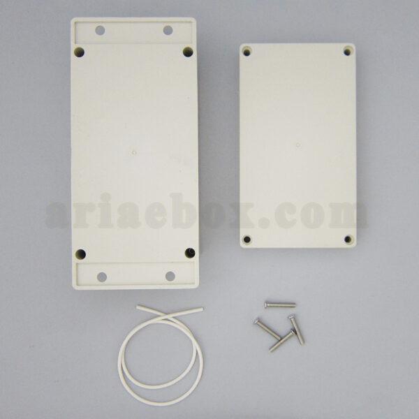 نمای بیرونی جعبه ضدآب تغذیه امنیتی کنترل صنعتی ABW205-A1M