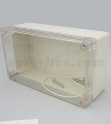 نمای سه بعدی جعبه ضدآب تغذیه امنیتی ABW205-A1T