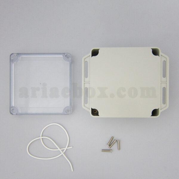 نمای بیرونی جعبه ضدآب شفاف منبع تغذیه الکترونیکی ABW231-A1TM