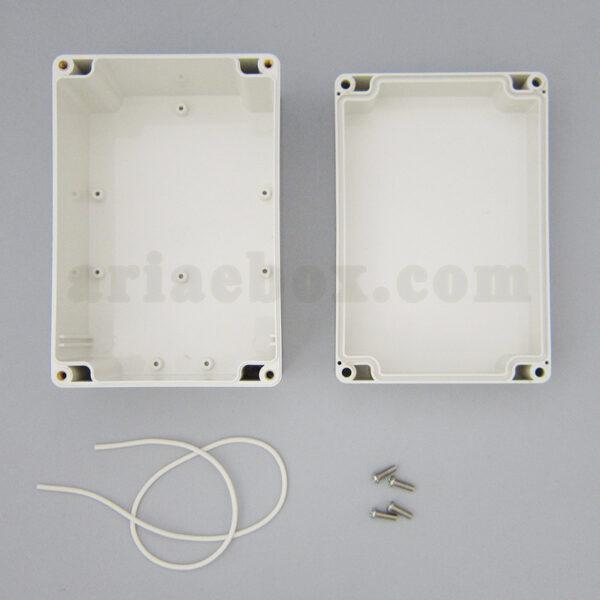 نمای داخلی باکس رومیزی ضدآب تجهیزات الکترونیکی ABW206-A1