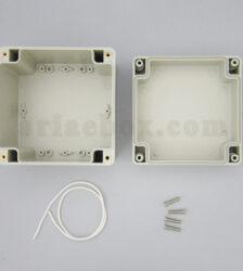 عکس نمای داخلی جعبه رومیزی ضدآب امنیتی الکترونیکی ABW204-A1