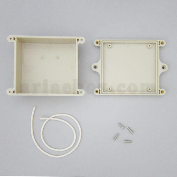 نمای داخلی جعبه ضدآب تجهیزات رله الکترونیکی ABW226-A1M