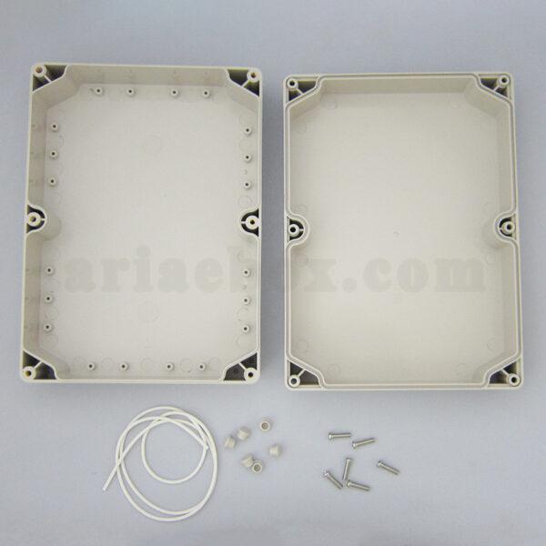 نمای داخلی جعبه ضدآب تجهیزات الکترونیکی ABW215-A1