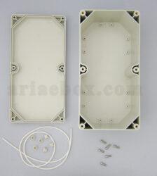 نمای داخلی جعبه ضدآب تجهیزات الکترونیکی فضای باز abw227-a1