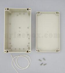 نمای داخلی جعبه ضدآب تجهیزات اتصالات کنترل امنیت ABW211-A1