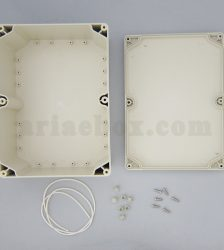نمای داخلی جعبه رومیزی ضدآب کنترل نظارت ABW216-A1