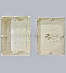 نمای داخلی جعبه ضدآب تجهیزات الکترونیکی منبع تغذیه abw219-a1